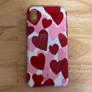 Valentines Day Kate Spade ♠️ IPhone X Case